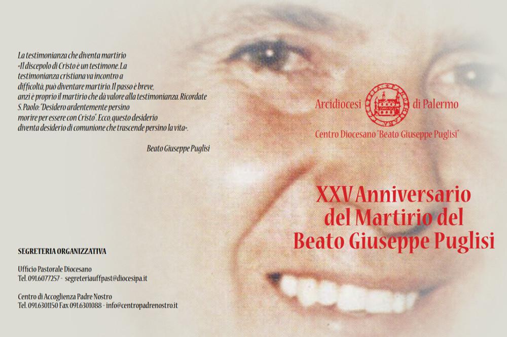 XXV Anniversario del martirio del Beato Giuseppe Puglisi